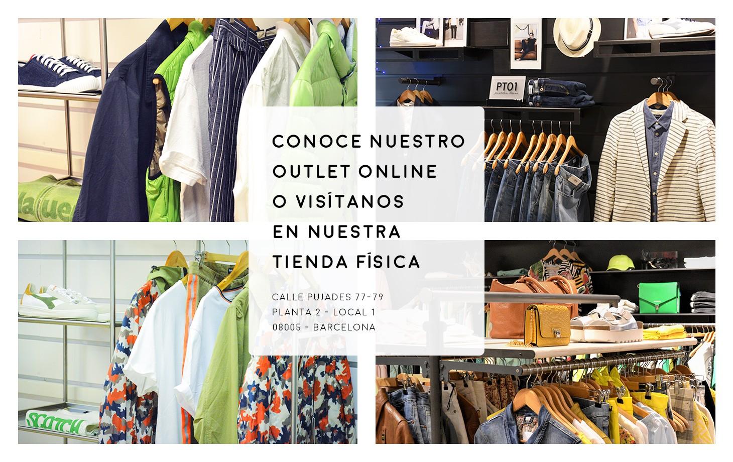 Conoce nuestro outlet online o visítanos en nuestra tienda física